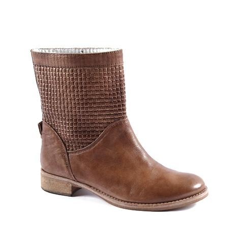 Spring Boot  Upper: Leather (italian)  Color: Dark Brown, Tan, Beige  Color