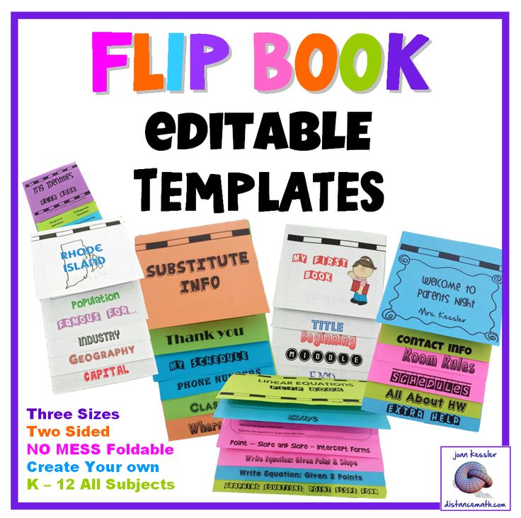 555 best Foldables images on Pinterest Boxes, School and Student - free book template for word
