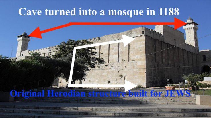 """Muchos amigos y conocidos se sintieron muy molestos ante la decisión de la UNESCO de denominar la Cueva de los Patriarcas en Hebrón como una """"herencia palestina"""" o patrimonio palestino.…"""