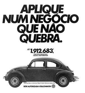 Fusca1965: Propagandas Antigas