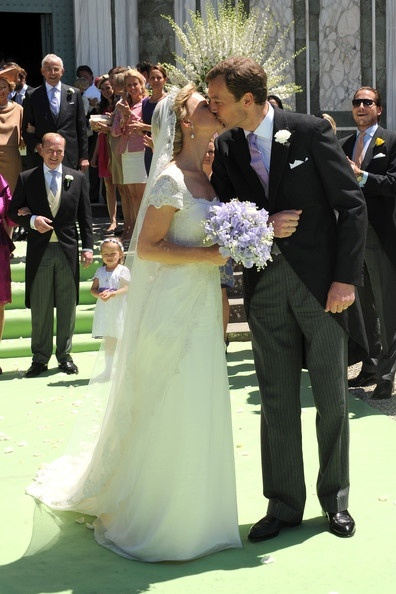 Princess Maria Carolina of Bourbon-Parma married Albert Brenninkmeijer