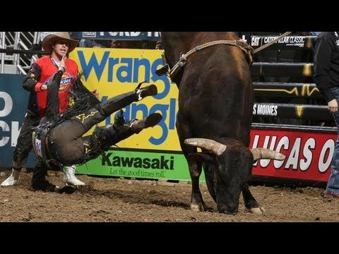 MONSTER MONEY BULL: Douglas Duncan on Asteroid (PBR) --- Douglas Duncan takes a shot at the Monster Money Bull, Asteroid, only to be thrown at 4.44 seconds, Asteroid receives a bull score of 47 points at the 2013 PBR BFTS 15/15 Bucking Battle in Des Moines, Iowa.