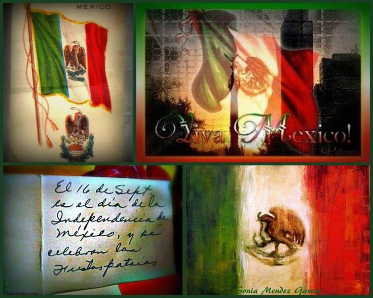 My Mom wrote me that note on the back of a sticker of a Mexican flag so that I would always remember El 16 de Septiembre.... Viva Mexico!