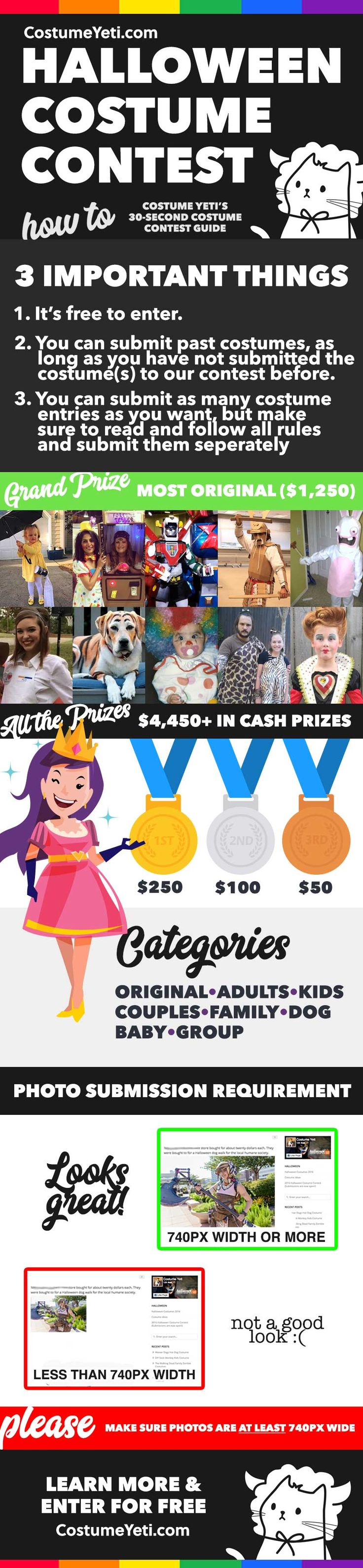 2017 Halloween Costume Contest 4450 In Cash And Prizes