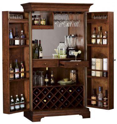 Home Barossa Valley Wine Bar Cabinet Howard Miller Furniture