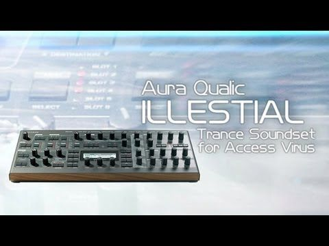70 Ambient / Cinematic presets for Access Virus TI Synthesizer - YouTube