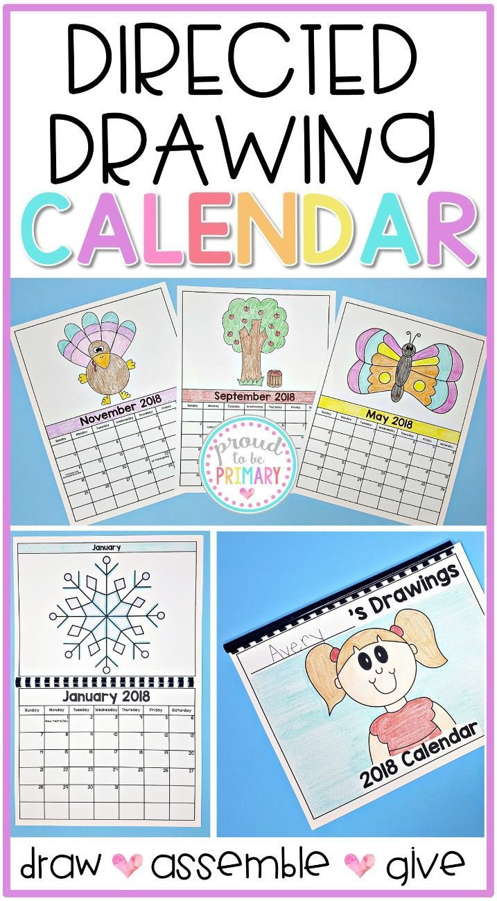 Directed Drawing Calendar Parent Gift Includes 2019 2021