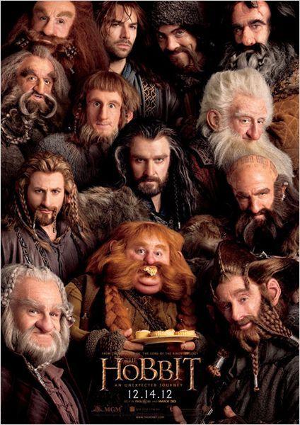 El Hobbit: Un viaje inesperado : Cartel enanos
