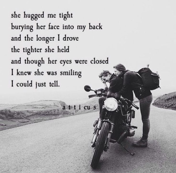 biker couple quotes - photo #5