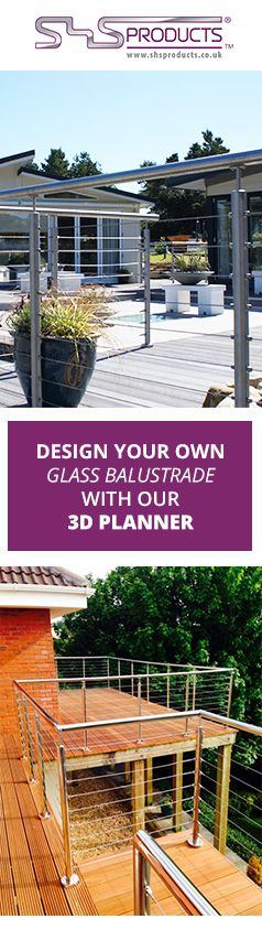 You can create your own Wire Rope #stainlesssteelbalustrade with our 3D design tool