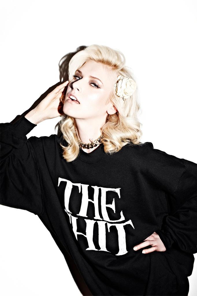 Sweatshirt THE SHIT black - The Shit Online Shop von Bonnie Strange   theshitonline.com