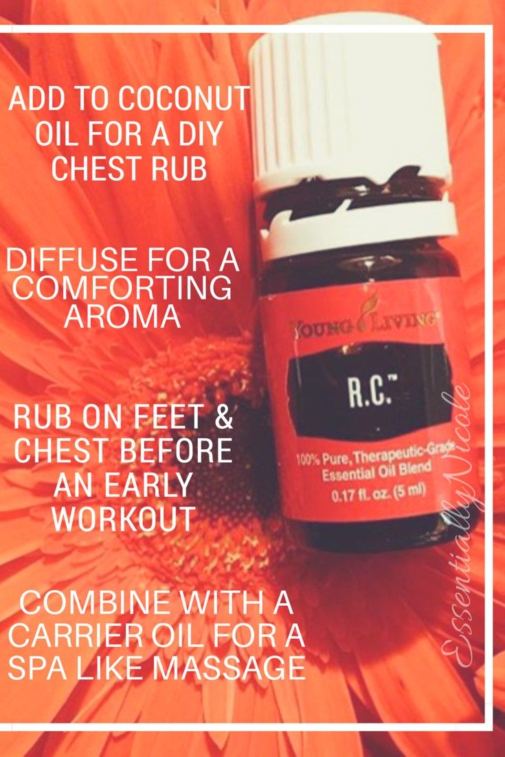 All about Young Living R.C. Essential Oil RC Essential Oil
