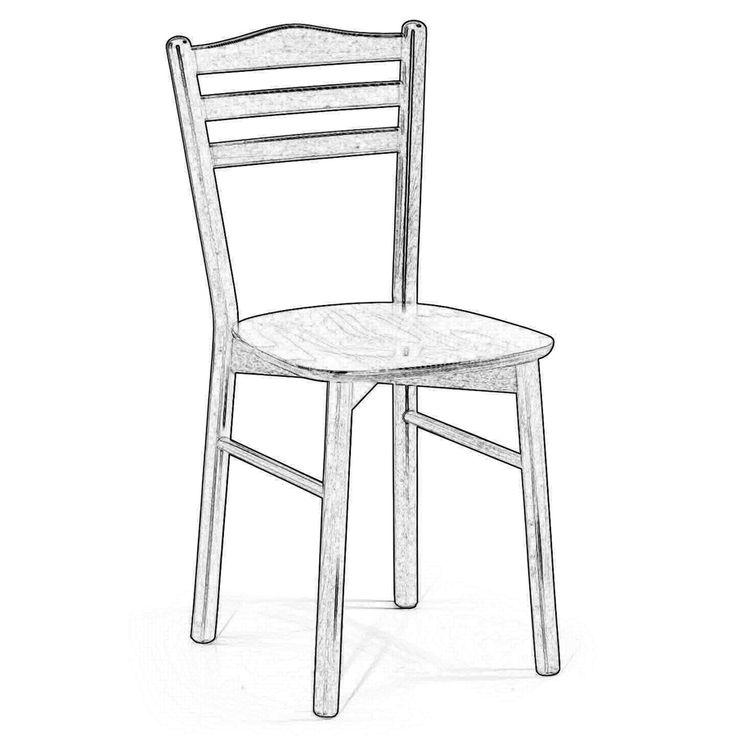 52 migliori immagini Raw wood chairs // Sedie in legno grezzo su ...