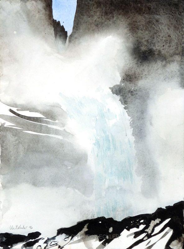 Krimmler Wasserfälle I, 2016