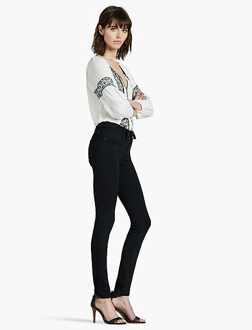 I took a pair that looked like these.    Wore them alot.   good with ankle boots and flats.  Mine hit just at the top of my ankle bone. HAYDEN LEGGING, JACINTO CITY