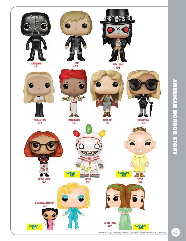 American Horror Story Circus Funko Pop Pinterest