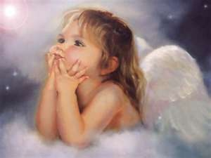 Angels.  I love this image. Reminds me of my sweet niece Marissa+.