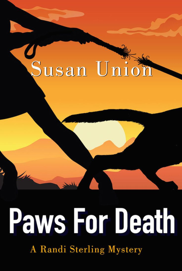Paws for Death by Susan Union. Book cover design by Dalitopia.