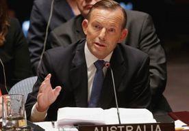 13-Oct-2014 11:24 - PREMIER AUSTRALIË VOELT POETIN AAN DE TAND. De Australische premier Tony Abbott zal de Russische premier Vladimir Poetin flink aan de tand voelen over de rol van Rusland bij het neerstorten van vlucht MH17. Dit zei Abbott maandag in opvallend ondiplomatieke bewoordingen in 'plat Australisch'...