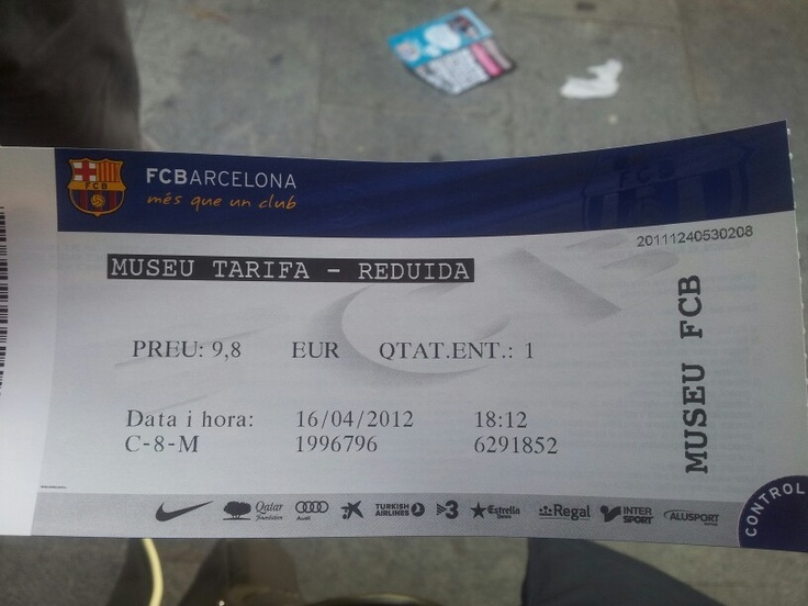 #fcbarcelona #museum #stadium #ticket
