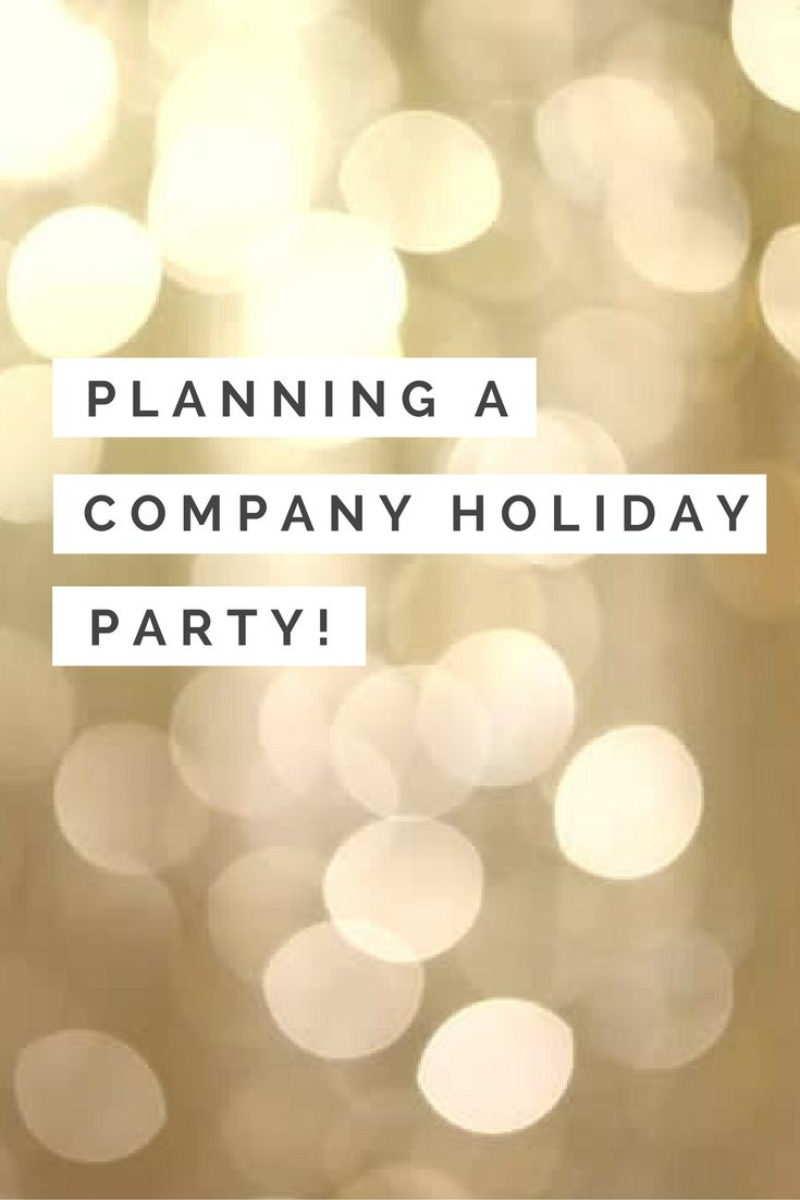 Advice for planning your company holiday party this year | The Centre