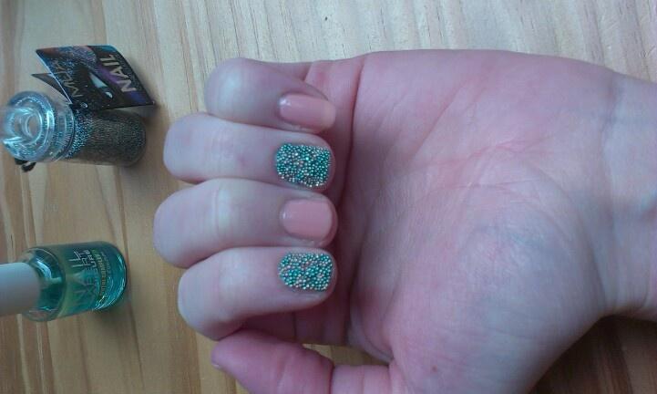 My caviar nails
