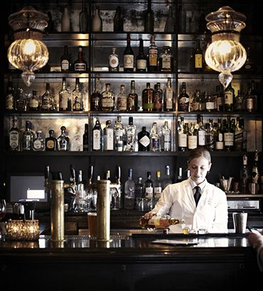 """Wayfare Tavern // Financial District ...Food Network star Tyler Florence's place. Food and decor are both """"masculine and American"""""""