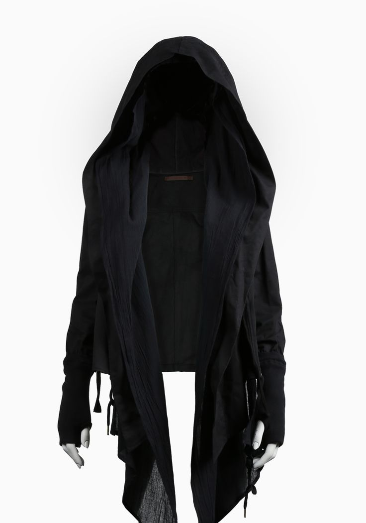 Well, if I ever decide to dress up as a dementer for Halloween, I'll know I'll be set with this jacket!