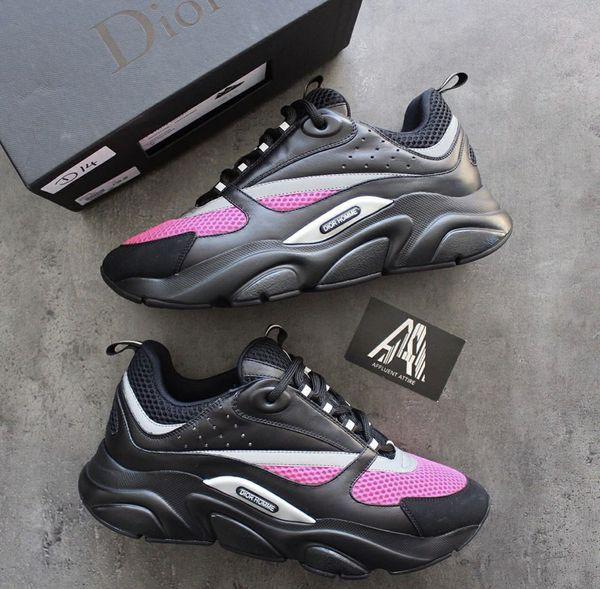 Dior b22 Black/Pink Sneakers | Dior