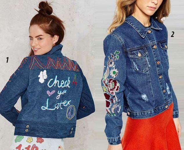 nakış işlemeli kot ceketler 2016 7