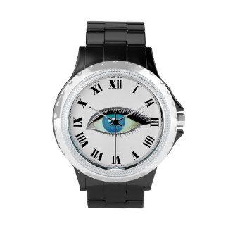I watch and see Roman numeral wrist watch
