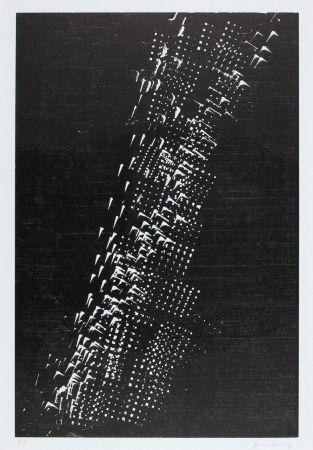 Woodcut  Hans Hartung  1976