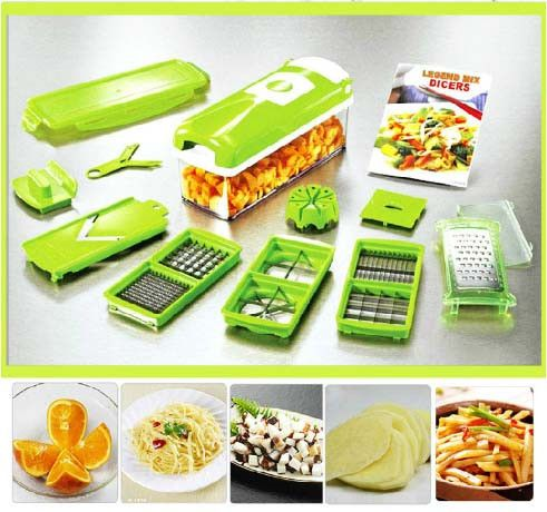 Easy Convenient Vegetable Fruit Dicer Slicer Cutter Plus Container Cho – Restful Spaces