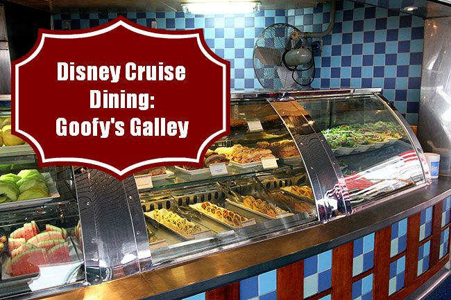 My Latest Review In My Disney Cruise Dining Series: Goofy