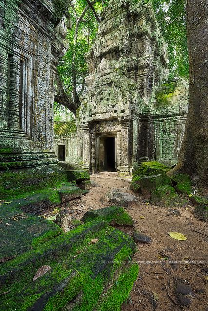 Ta Prohm temple, Cambodia (by Beboy_photographies on Flickr)
