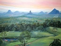 Image result for images of the glass house mountains