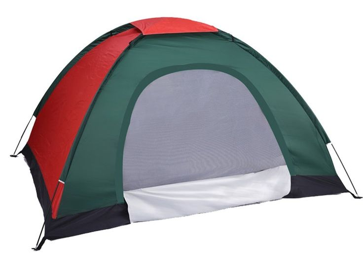 Generic Durable Large Space 4 Person Tent Green >> Awesome product. Click the image : Hiking tents