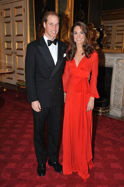 Prince William and Kate Middleton at the 100 Women in Hedge Funds London Gala