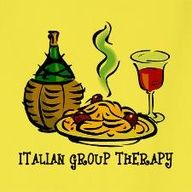 Italian group therapy = food and wine!