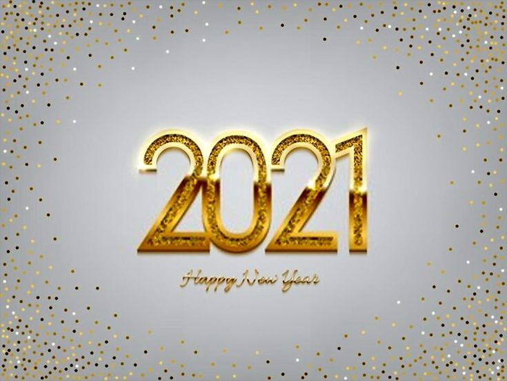 New Year 2021 Wallpapers HD Download in 2020 | Happy new ...