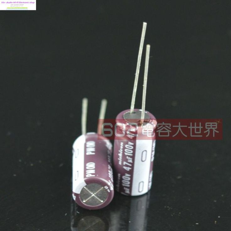 2017 Supercapacitor Genuine Nichicon Nic 100v47uf For Audio Electrolytic Capacitor 47uf 100v Pm Hf Series 10*20 Free Shipping //Price: $7.75//     #storecharger