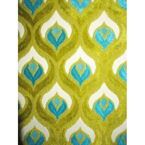 Chartreuse Peacock... I Want This Rug!