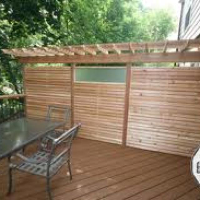 Back Wall    Deck    Divider