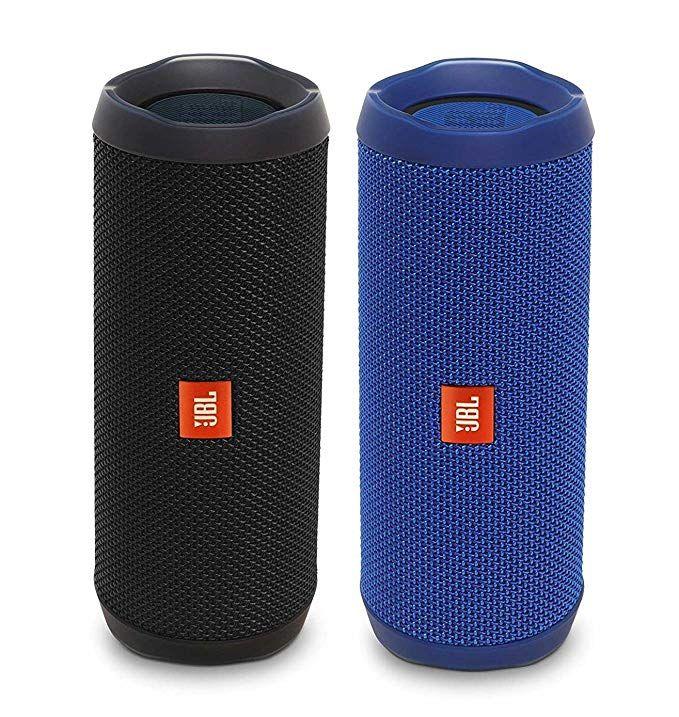 Jbl Flip 4 Waterproof Bluetooth Speaker Party Pack Black Blue Review In 2020 Waterproof Bluetooth Waterproof Bluetooth Speaker Bluetooth Speaker