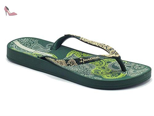 Ipanema Foliage Femmes tongs / Sandalesor Green RSNBG8