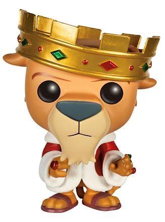 Robin Hood Prince John Pop! Vinyl Figure
