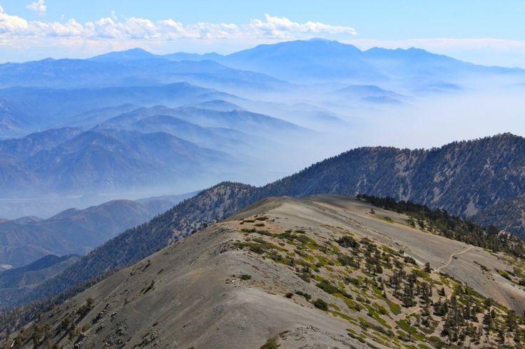 Top of Mt Baldy in Southern California. #hiking #summit #california