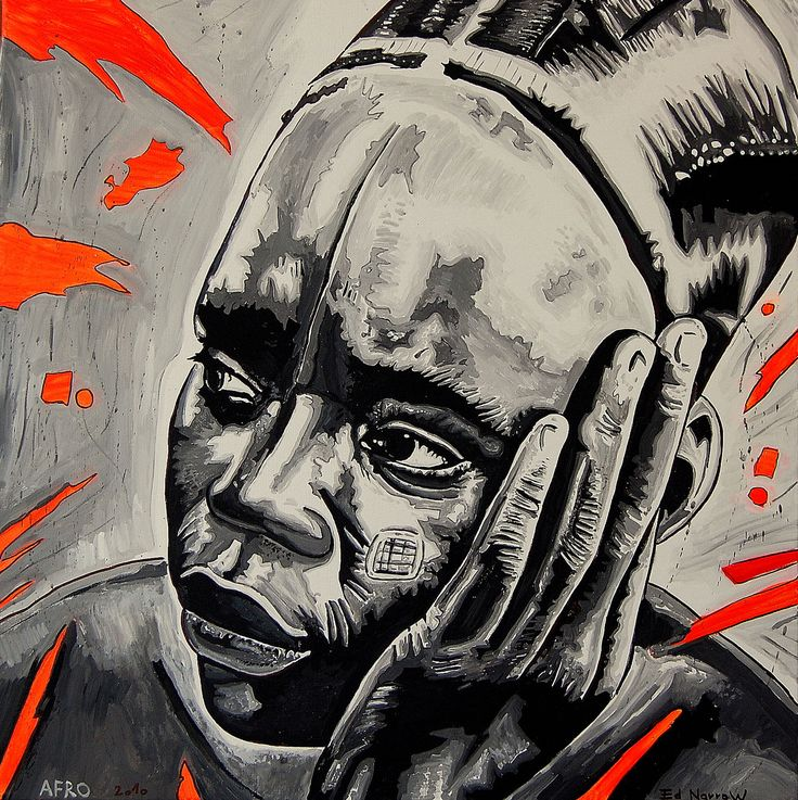 Afro by Norbert Szük (Ed Narrow) 2011