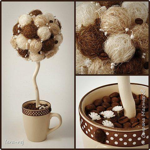 Работы из сизалевых шариков. Вдохновитель - Мария Шарафеева. Огромное спасибо фото 8