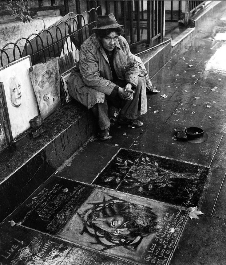 Robert Doisneau // England - Londres, 1950.